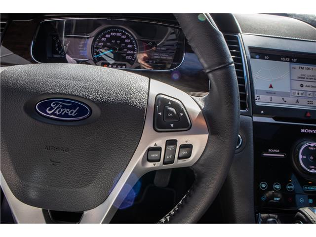 2018 Ford Taurus Limited (Stk: B81476) in Okotoks - Image 17 of 22