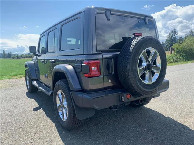 2019 Jeep Wrangler Unlimited Sahara (Stk: W607328) in Courtenay - Image 5 of 23