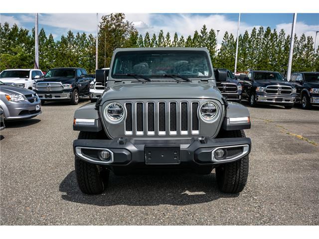 2019 Jeep Wrangler Unlimited Sahara (Stk: K561775) in Abbotsford - Image 2 of 24