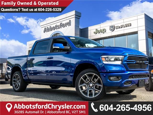 2019 RAM 1500 Sport (Stk: K758589) in Abbotsford - Image 1 of 23