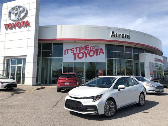 2020 Toyota Corolla SE (Stk: 31089) in Aurora - Image 1 of 15