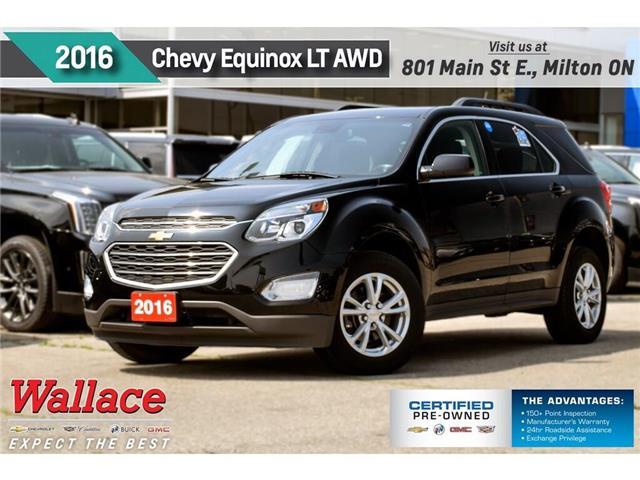 2016 Chevrolet Equinox LT/AWD/SUNRF/HTD SEATS/NAV/PIONEER/RMT STRT (Stk: PL5225) in Milton - Image 1 of 28