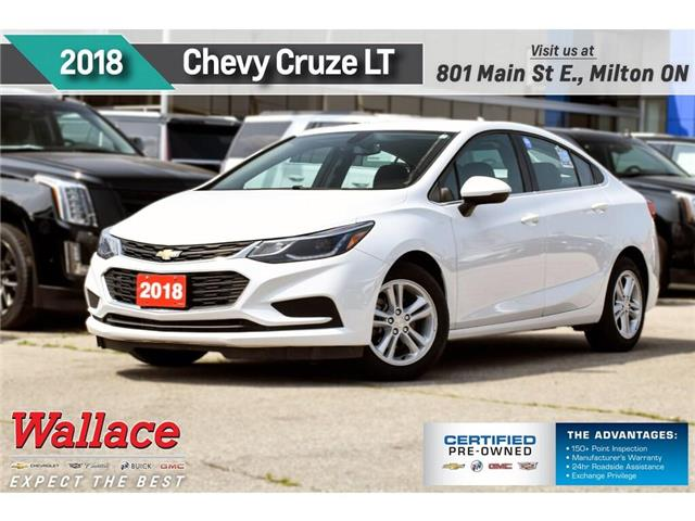 2018 Chevrolet Cruze LT/HTD STS/REAR CAM/7 SCRN/CARPLAY/CRUISE/1-OWNR (Stk: PR5072) in Milton - Image 1 of 22