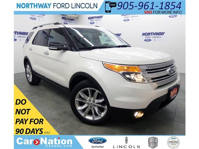 2014 Ford Explorer XLT | AWD | NAV | HTD LEATHER | PANOROOF | (Stk: EP96359A) in Brantford - Image 1 of 46