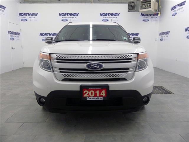 2014 Ford Explorer XLT | AWD | NAV | HTD LEATHER | PANOROOF | (Stk: EP96359A) in Brantford - Image 2 of 46