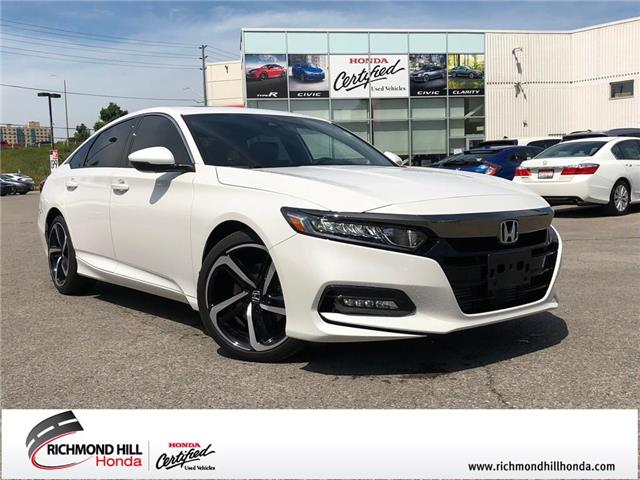 2018 Honda Accord Sport (Stk: 190717P) in Richmond Hill - Image 1 of 22