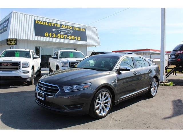 2018 Ford Taurus Limited (Stk: 1FAHP2) in Kingston - Image 1 of 10