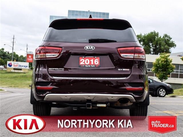 2016 Kia Sorento 2.0L SX (Stk: N2167A) in Toronto - Image 4 of 25