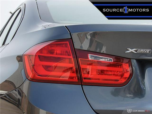 2015 BMW 320i xDrive (Stk: T52798) in Brampton - Image 11 of 26