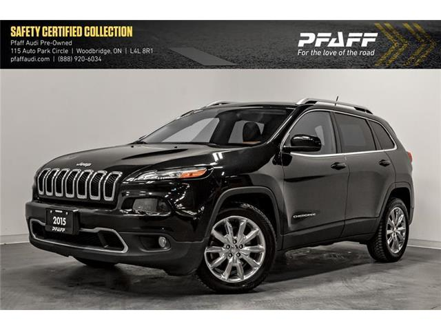 2015 Jeep Cherokee Limited (Stk: T16913A) in Woodbridge - Image 1 of 22
