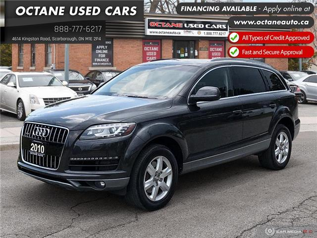 2010 Audi Q7 3.0 TDI Premium (Stk: ) in Scarborough - Image 1 of 25