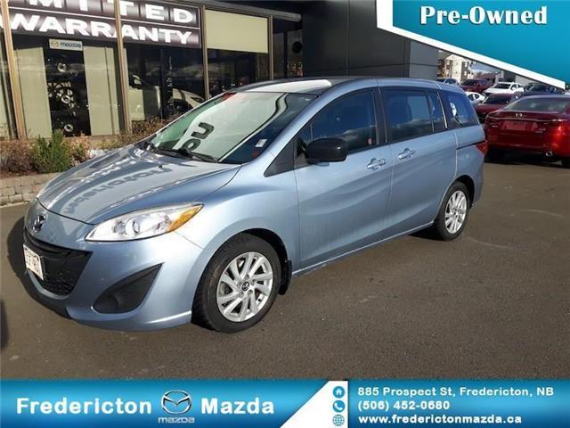 2013 Mazda Mazda5 GS (Stk: R37) in Fredericton - Image 1 of 11
