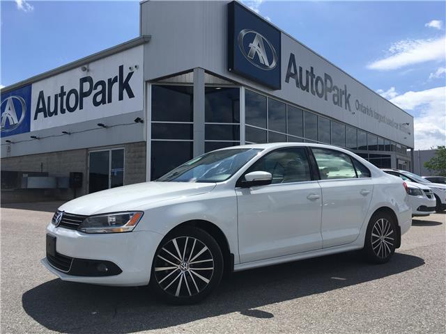2014 Volkswagen Jetta 2.0 TDI Highline (Stk: 14-12808JB) in Barrie - Image 1 of 27