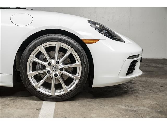 2017 Porsche 718 Boxster Base (Stk: VU0455) in Vancouver - Image 20 of 21