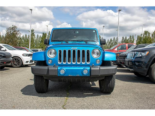2016 Jeep Wrangler Unlimited Sahara (Stk: AB0877) in Abbotsford - Image 2 of 27