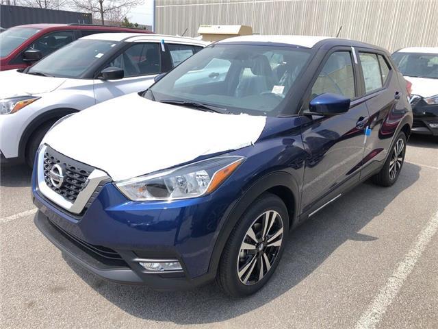 2019 Nissan Kicks SV (Stk: Y1161) in Burlington - Image 1 of 5
