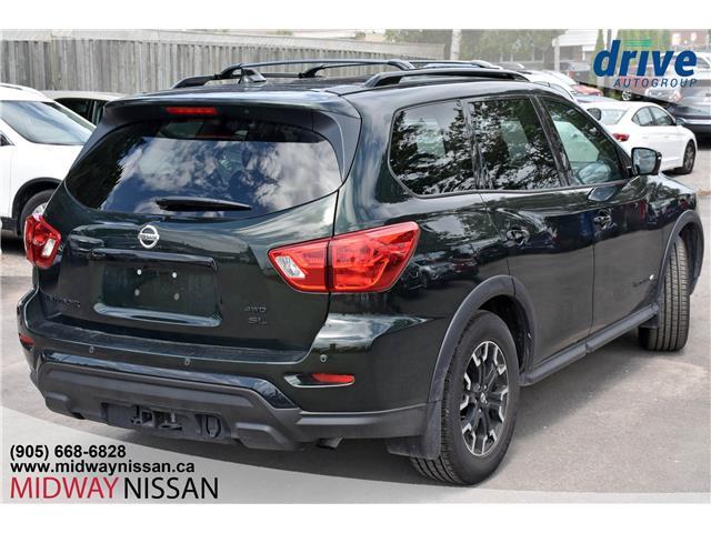 2019 Nissan Pathfinder SL Premium (Stk: U1756) in Whitby - Image 10 of 40