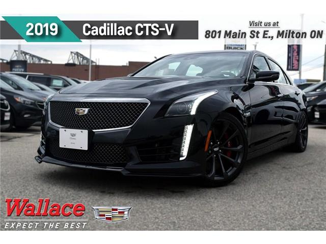 2019 Cadillac CTS-V DEMO/640HP/SUNROOF/BREMBOS/HTD LTHR STS&WHL/19s (Stk: 100358D) in Milton - Image 1 of 30
