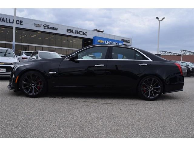 2019 Cadillac CTS-V DEMO/640HP/SUNROOF/BREMBOS/HTD LTHR STS&WHL/19s (Stk: 100358D) in Milton - Image 2 of 30
