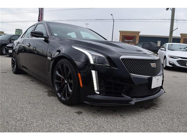 2019 Cadillac CTS-V DEMO/640HP/SUNROOF/BREMBOS/HTD LTHR STS&WHL/19s (Stk: 100358D) in Milton - Image 7 of 30