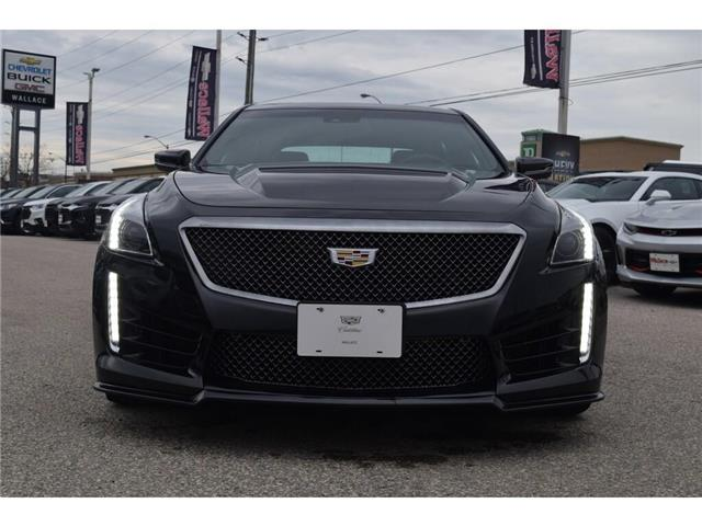 2019 Cadillac CTS-V DEMO/640HP/SUNROOF/BREMBOS/HTD LTHR STS&WHL/19s (Stk: 100358D) in Milton - Image 8 of 30