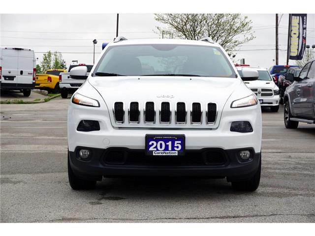 2015 Jeep Cherokee NORTH| TRAILER TOW GRP| SAFETYTEC GRP & MORE (Stk: K859B) in Burlington - Image 2 of 50