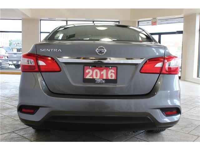 2016 Nissan Sentra  (Stk: 637022) in Milton - Image 6 of 38