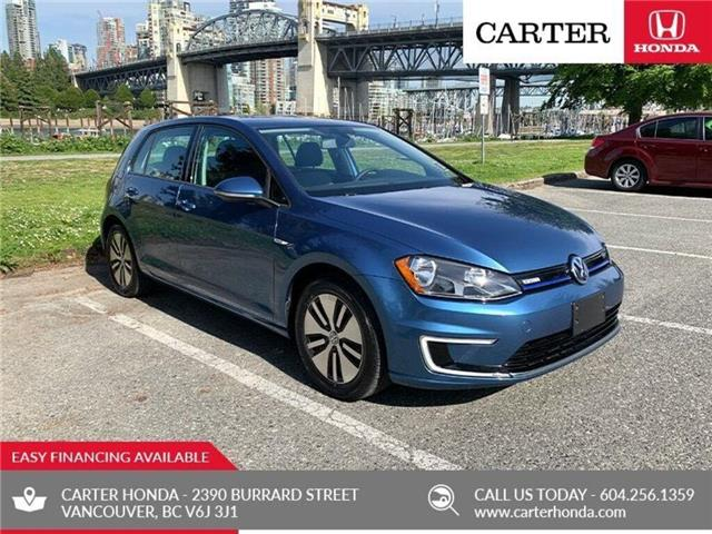 2016 Volkswagen E-Golf SE + SUMMER SALE + NO ACCIDENTS (Stk: B96100) in Vancouver - Image 1 of 21