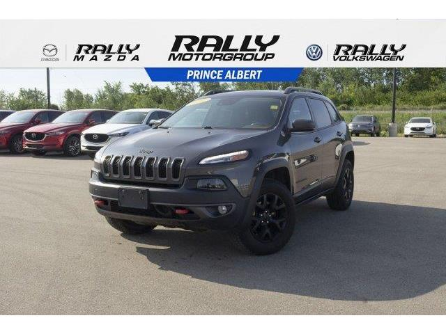 2016 Jeep Cherokee Trailhawk (Stk: V652) in Prince Albert - Image 1 of 11