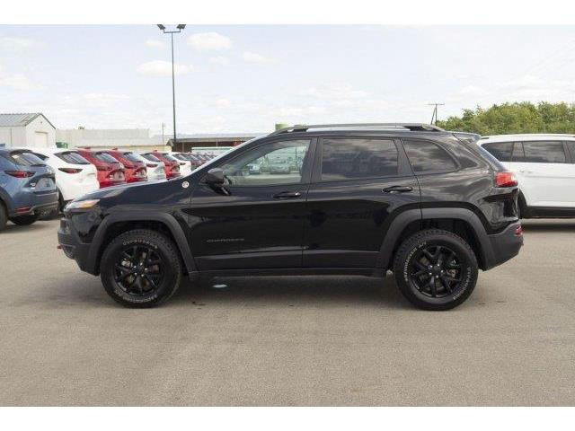 2018 Jeep Cherokee Trailhawk (Stk: V575) in Prince Albert - Image 8 of 11