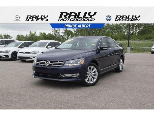 2014 Volkswagen Passat 2.0 TDI Highline (Stk: V890) in Prince Albert - Image 1 of 11
