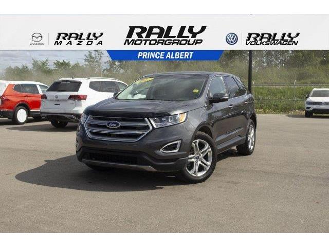 2017 Ford Edge Titanium (Stk: V647) in Prince Albert - Image 1 of 11