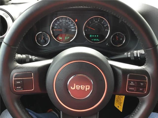 2018 Jeep Wrangler JK Unlimited Sahara (Stk: K461A) in Grimsby - Image 9 of 14