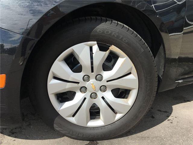 2014 Chevrolet Cruze 1LT TINTED WINDOWS, STEERING WHEEL CONTROLS, ABS,  (Stk: 43975A) in Brampton - Image 2 of 23