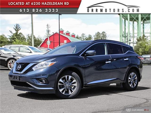 2017 Nissan Murano SV (Stk: 5657R) in Stittsville - Image 1 of 27