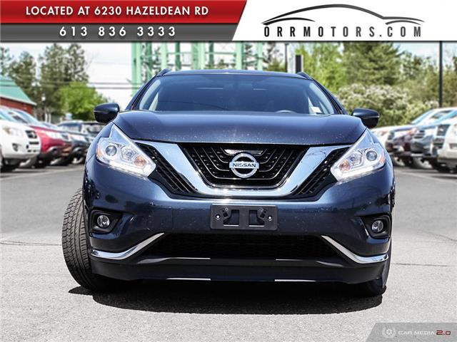 2017 Nissan Murano SV (Stk: 5657R) in Stittsville - Image 2 of 27