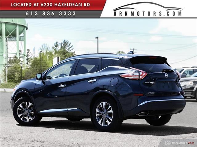 2017 Nissan Murano SV (Stk: 5657R) in Stittsville - Image 4 of 27