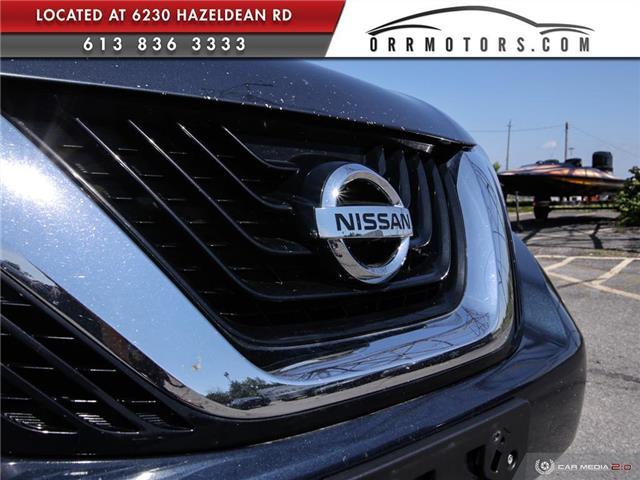 2017 Nissan Murano SV (Stk: 5657R) in Stittsville - Image 9 of 27