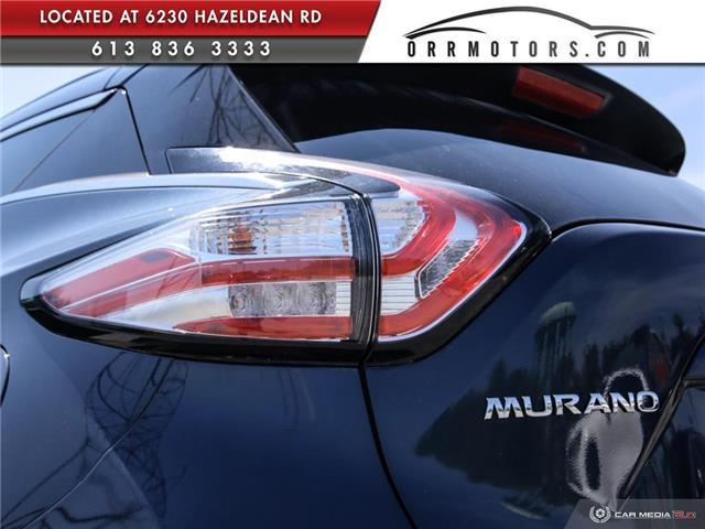 2017 Nissan Murano SV (Stk: 5657R) in Stittsville - Image 11 of 27