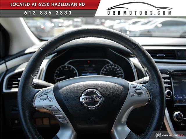 2017 Nissan Murano SV (Stk: 5657R) in Stittsville - Image 13 of 27