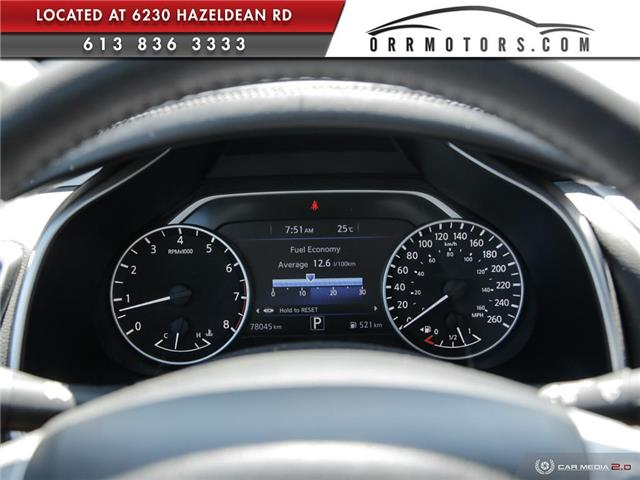 2017 Nissan Murano SV (Stk: 5657R) in Stittsville - Image 14 of 27