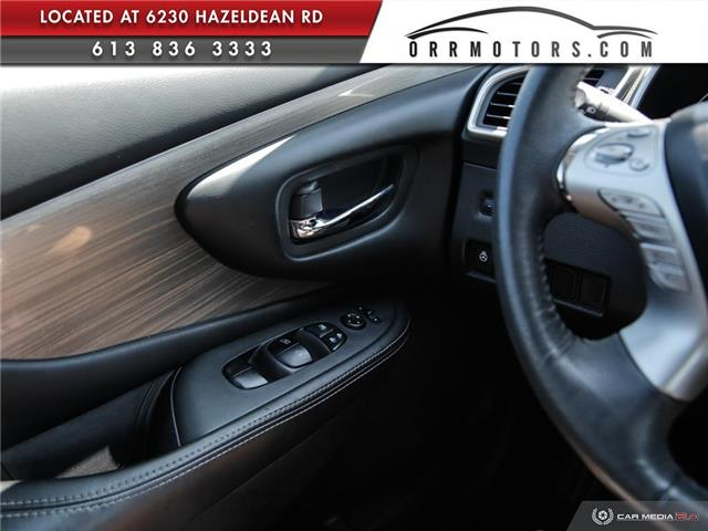 2017 Nissan Murano SV (Stk: 5657R) in Stittsville - Image 16 of 27