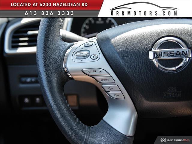 2017 Nissan Murano SV (Stk: 5657R) in Stittsville - Image 17 of 27