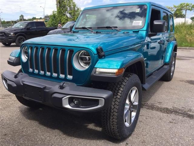 2019 Jeep Wrangler Unlimited Sahara (Stk: W19157) in Newmarket - Image 1 of 21
