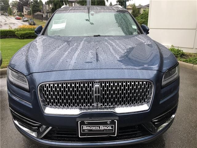 2019 Lincoln Nautilus Reserve (Stk: 196379) in Vancouver - Image 1 of 11