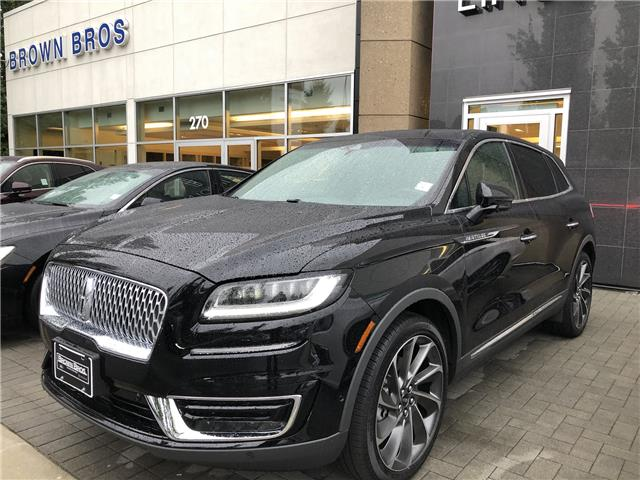 2019 Lincoln Nautilus Reserve (Stk: 196318) in Vancouver - Image 1 of 12
