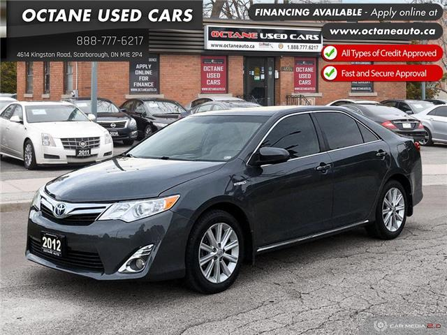 2012 Toyota Camry Hybrid XLE (Stk: ) in Scarborough - Image 1 of 25
