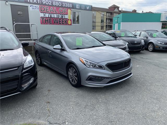 2015 Hyundai Sonata Sport (Stk: ) in Lower Sackville - Image 2 of 3