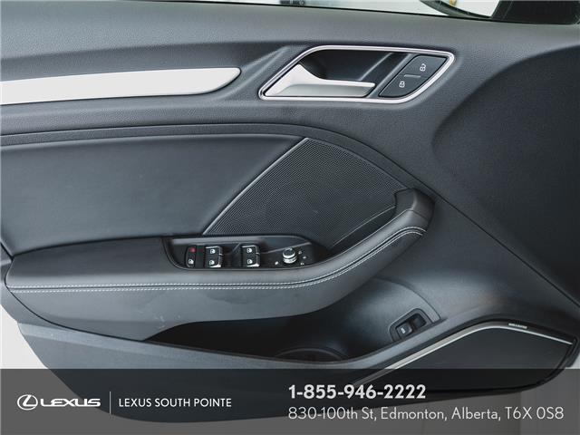 2018 Audi S3 2.0T Technik (Stk: L900659A) in Edmonton - Image 16 of 19