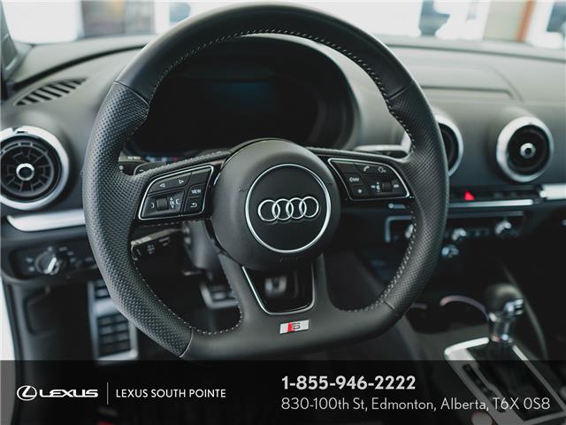 2018 Audi S3 2.0T Technik (Stk: L900659A) in Edmonton - Image 10 of 19